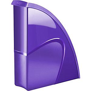 Cep Gloss 674+ G Revistero, poliestireno, 85 x 310 x 270 mm, violeta