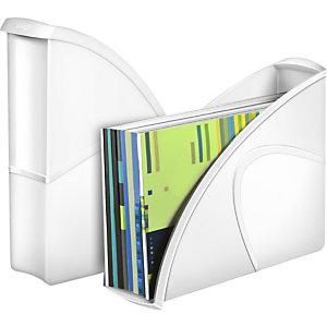 Cep Gloss Espositore/Portariviste da scrivania 674+ G Bianco