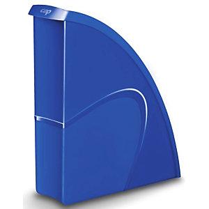 Cep Happy 674+H Revistero, poliestireno, 85 x 310x 270 mm, azul eléctrico
