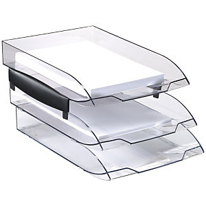 Cep Ice Black 140 Soportes para bandejas de correspondencia en negro