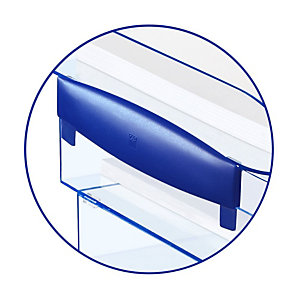 Cep Ice Blue 140 Montanti per vaschetta portacorrispondenza Nero