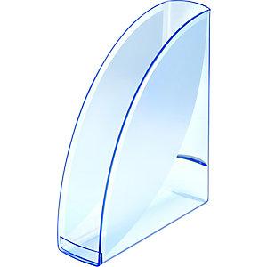 Cep Ice Blue 674 i Revistero, poliestireno, 82x310 x 265 mm, azul transparente