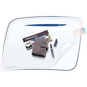 Cep Ice Blue 770 I, Vade de escritorio con cubierta, plástico, 656 x 448mm, azul hielo