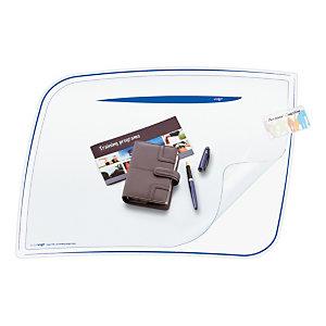 Cep Sous-main Ice Blue 770 I 65,6x44,8x0,11cm PVC Bleu glacé