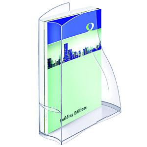 Cep Porte-revues Ellypse370, 278x83x325mm, polystyrène, transparent