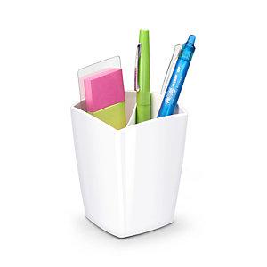 Cep Pot à crayons CepPro - 2 compartiments - Blanc