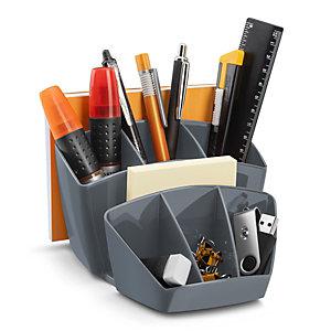 Cep Pot à crayons CepPro 8 compartiments - Gris orage