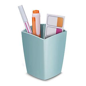 Cep Pot à crayons Riviera - 2 compartiments - Vert d'eau