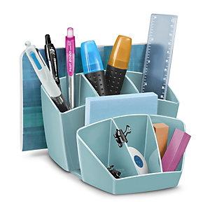 Cep Pot à crayons Riviera 8 compartiments - Vert d'eau
