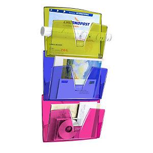 Cep Présentoir muralHappy170HM, 361x86x270mm, polystyrène, multicolore, lot de3
