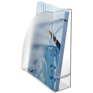 Cep Pro 674 Revistero, poliestireno, 85 x 310 x 270 mm, cristal