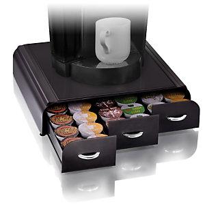 Cep Take A Break Contenitore per cialde e capsule caffè 3 cassetti 342 x 327 x 69 mm Polistirene Nero