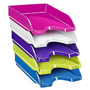 Cep Vaschetta portacorrispondenza Gloss, Colori Assortiti (confezione 5 pezzi)
