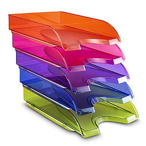 Cep Vaschetta portacorrispondenza Happy, Colori Assortiti (confezione 5 pezzi)