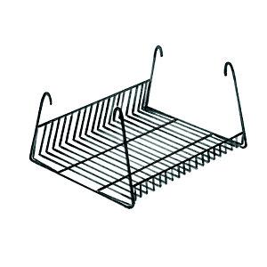 Cestello portalibri per sedie attesa impilabili