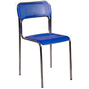 Chaise de réunion & visiteur Ascona Polypropylène  - Bleu