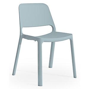 Chaise de réunion & visiteur Nuke en Nylon - Bleu