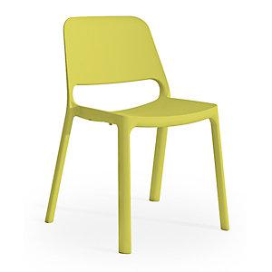 Chaise de réunion & visiteur Nuke en Nylon - Vert anis