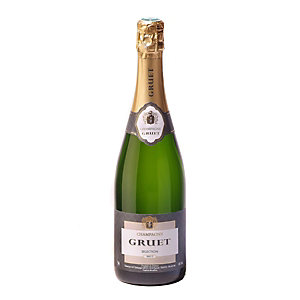 CHAMPAGNE GRUET Champagne Brut Sélection - Bouteille de 75 cl