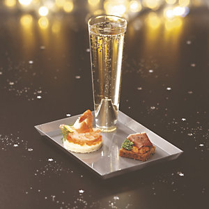 Champagne pack Starck zilver