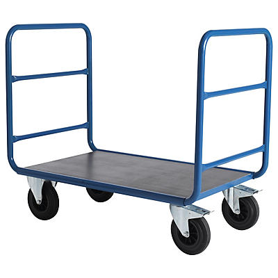 Chariot pour charges lourdes et volumineuses##Plateauwagen voor grote en zware lasten