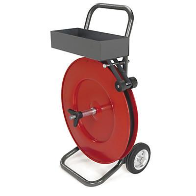 Chariot-dévidoir mobile pour bobines lourdes