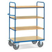 Chariot haut à plateaux bois 600 kg