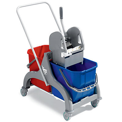 Chariot de lavage duo standard 2 x 15 litres TTS