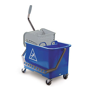 Chariot de lavage duo standard compact 2 x 10 litres