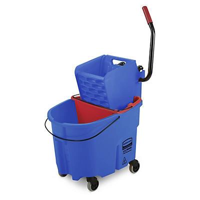 Chariot de lavage duo##Rolemmersduo met dweilpers