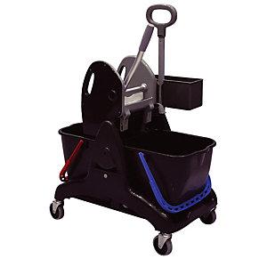 Chariot de ménage duo 30 L Tristar + presse