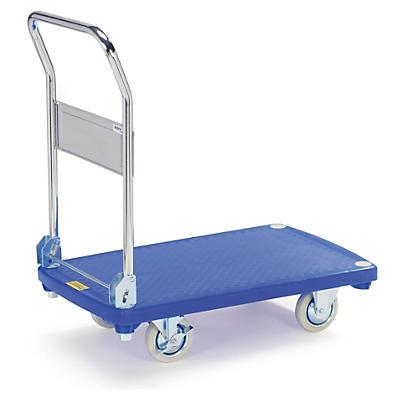 Chariot à plateau plastique##Plateauwagen met kunststof platform