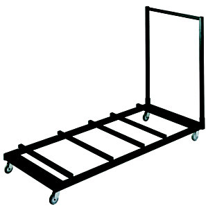 Chariot de rangement pour tables pliantes