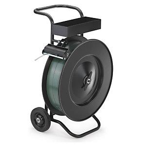 Chariot-dévidoir robuste pour bobines lourdes