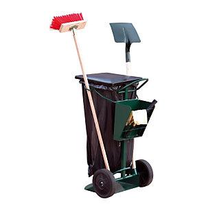 Chariot de voirie pour sac poubelle de 150 L