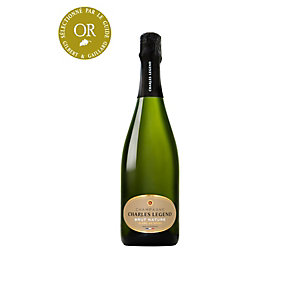 CHARLES LEGEND Champagne Brut Nature - Bouteille 75 cl