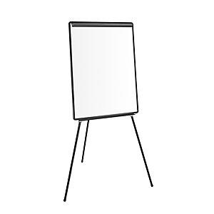 Chevalet de conférence - Surface en mélamine 66 x 101cm - Cadre Noir