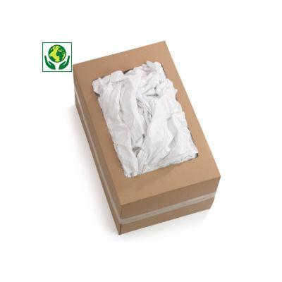 Chiffon blanc coton fin##Poetsdoek van wit fijn katoen