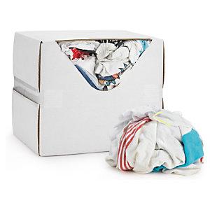 Chiffon blanc textile