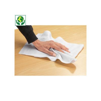 Chiffon coton blanc##Katoenen poetsdoeken