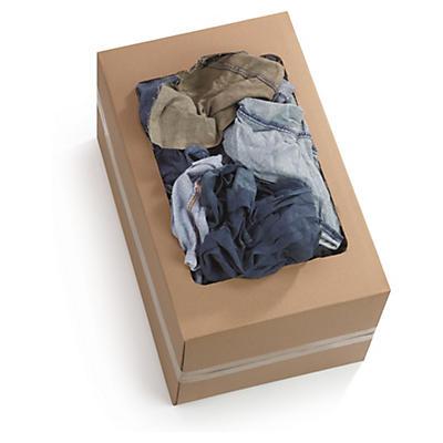 Chiffon coton épais couleur