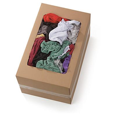 Chiffon couleur coton##Baumwoll-Lappen bunt