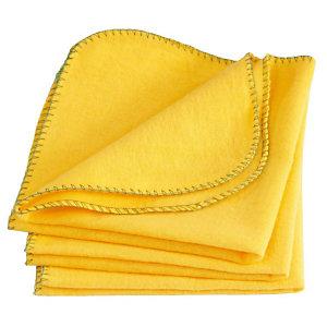 Chiffon à poussière - Jaune - 40x40 cm (Lot de 10)