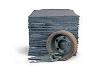 Chiffon textile épais