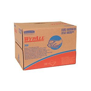 Chiffons non tissés Kimberly-Clark Wypall X60, la boîte de 200