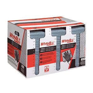 Chiffons Wypall FORCEMAX, boite distributrice de 480 formats