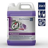 Cif Pro Formula nettoyant liquide désinfectant professionnel 2-en-1 cuisine  bidon 5 l - violet