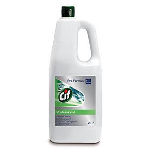 Cif Pro Formula Nettoyant professionnel avec eau de Javel - 2l