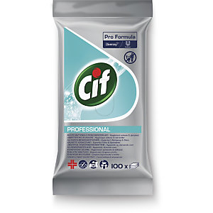Cif Pro Formula Toallitas Multiuso, paquete de 100