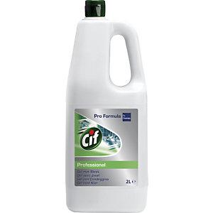 Cif Professional Detergente Multiuso gel con Candeggina, Flacone 2 l